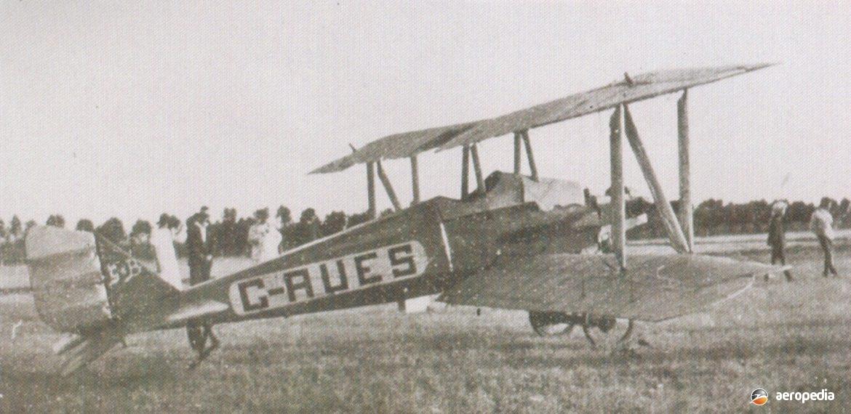 Blanch Biplane - Aeropedia The Encyclopedia of Aircraft - Australia - New Zealand