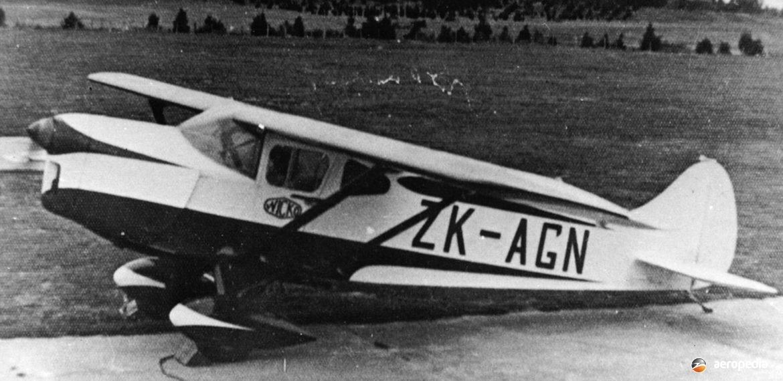 Foster Wikner GM.1 - Aeropedia The Encyclopedia Of Aircrafts - Australia - New Zealand